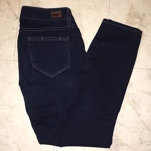 Paige Skinny Cropped Jeans 25